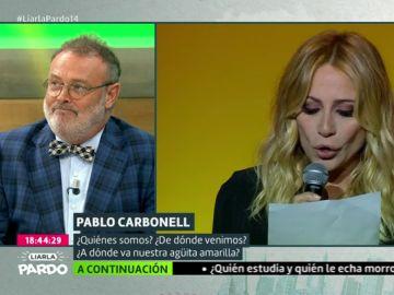 Pablo Carbonell y Marta Sánchez