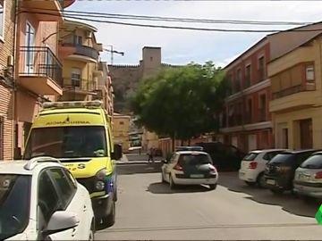 Imagen del lugar donde ha sido encontrado el cuerpo del vecino desaparecido en Almansa
