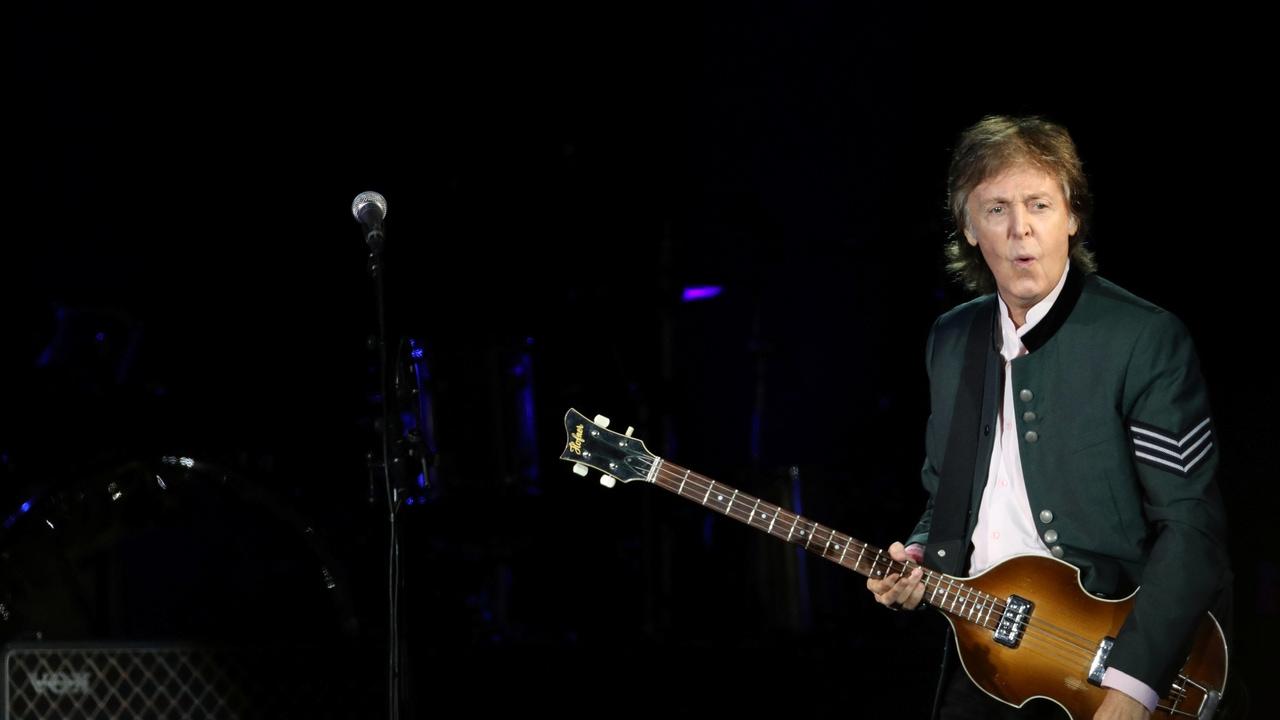 El músico Paul McCartney