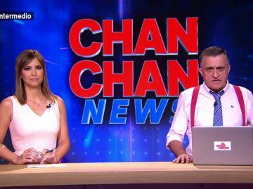 Valtonyc, Franco, Ignacio González... El Intermedio presenta Chan Chan News: la sección que recoge toda la actualidad