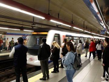 Una imagen de archivo del Metro de Madrid