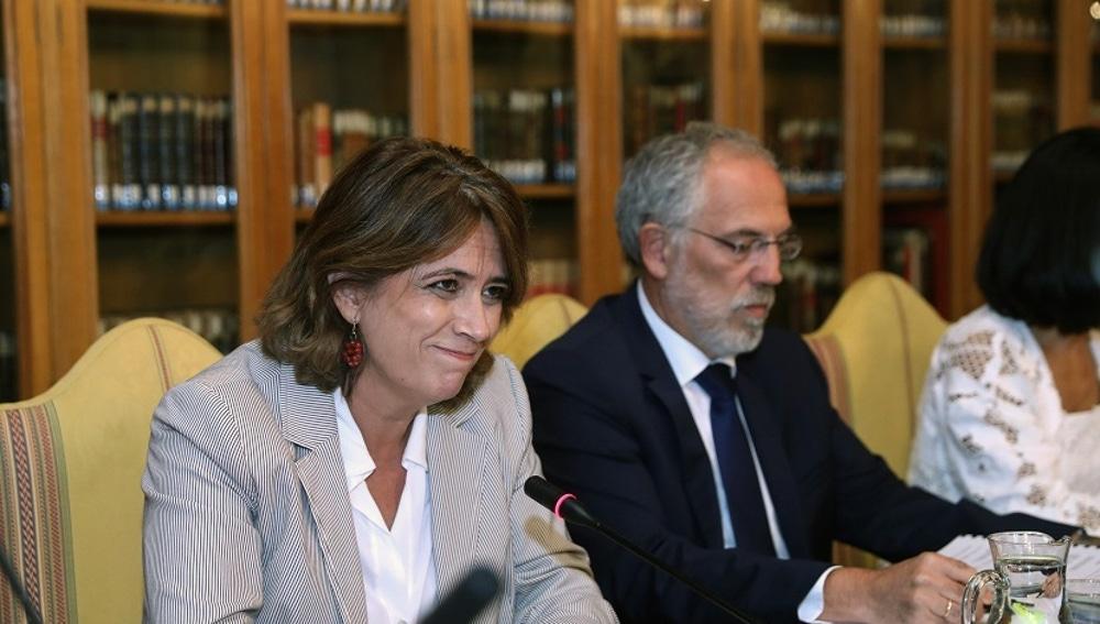 Imagen de la ministra Dolores Delgado
