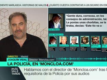 Joaquín Vidal, en Más Vale Tarde