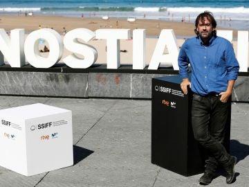 Isaki Lacuesta en el Festival de San Sebastián