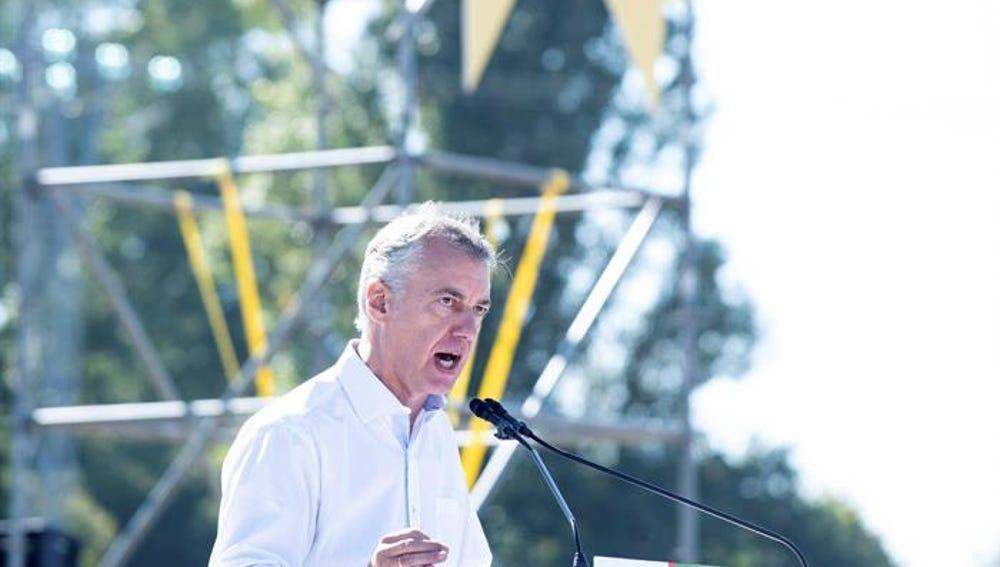 El lehendakari, Íñigo Urkullu