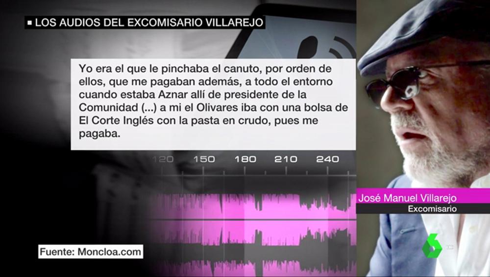 El PP redobla las críticas a Sánchez por los nuevos audios de Villarejo: el secretario de Estado de Defensa habría pagado dinero para espiar a Aznar