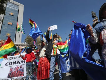 Ciudadanos Bolivianos en La Paz Bolivia