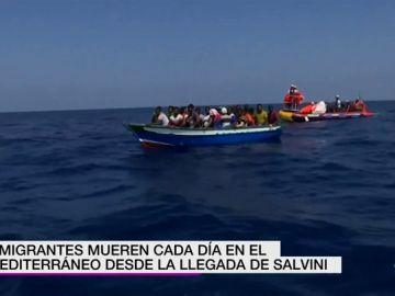 La política migratoria de Salvini dispara a 1.300 las muertes en el Mediterráneo: ocho migrantes han perdido la vida cada día en los últimos cuatro meses