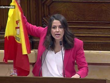 Inés Arrimadas en el Parlament