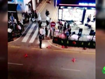 Imagen del crimen de Estepona