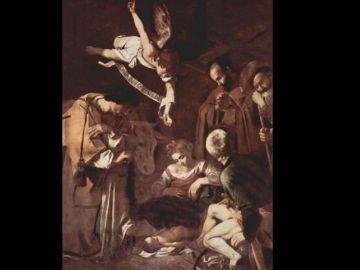 Imagen de la obra 'Natividad' de Caravaggio