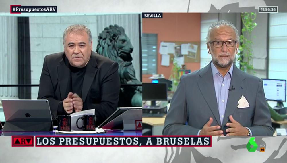 Antonio García Ferreras y José María O'kean