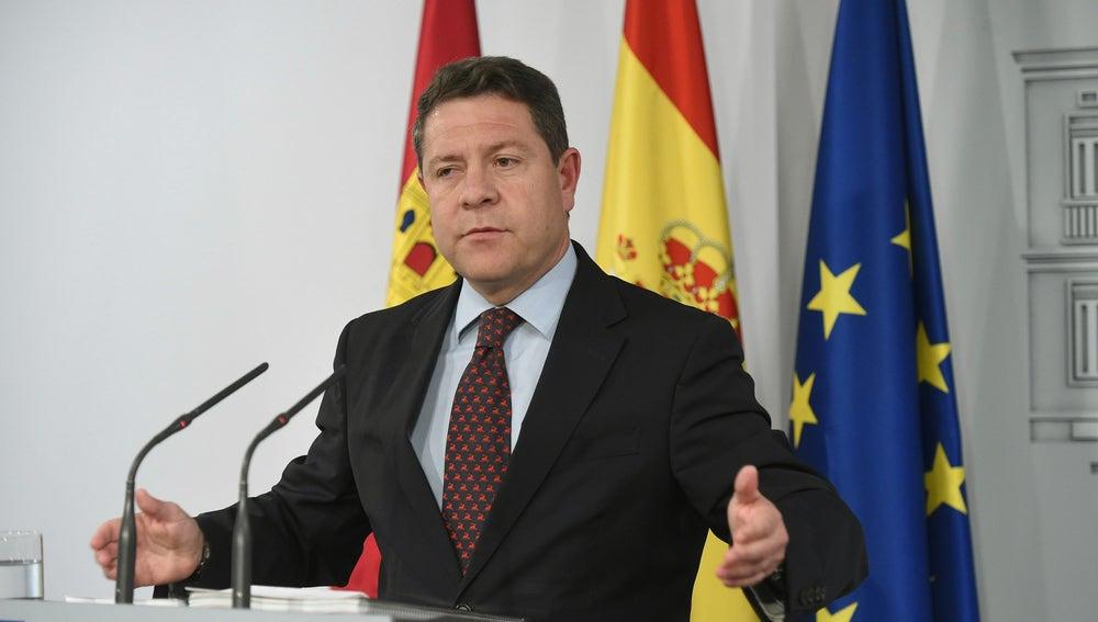 El presidente de Castilla-La Mancha, Emiliano García-Page