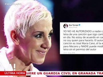 Ana Torroja carga contra Operación Triunfo