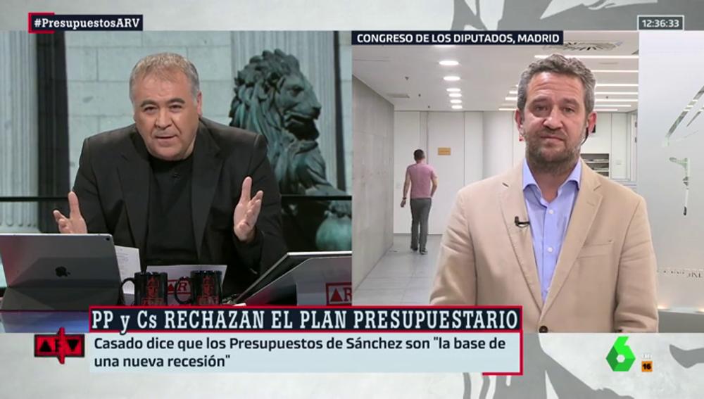 """La crítica de Jaime Olano a los PGE, """"la semilla de la próxima recesión"""": """"Van en el sentido contrario de la ortodoxia económica"""""""