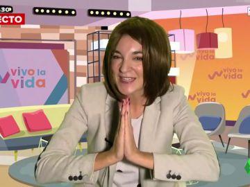 """Leonor Lavado imita a la """"queridísima"""" Toñi Moreno"""