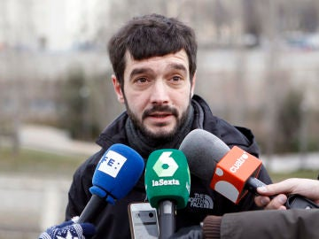 El secretario de Relaciones Internacionales de Podemos, Pablo Bustinduy