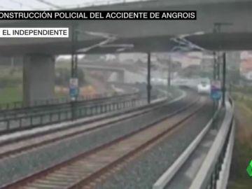 Imágenes nunca vistas de la tragedia de Angrois: el maquinista habló tres veces por teléfono mientras el tren aceleraba