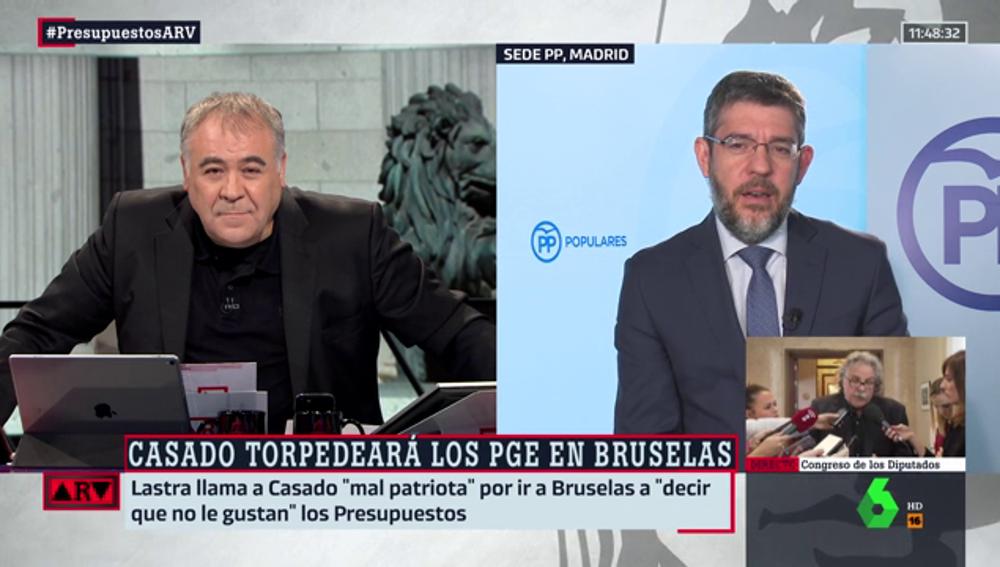Antonio García Ferreras y Alberto Nadal