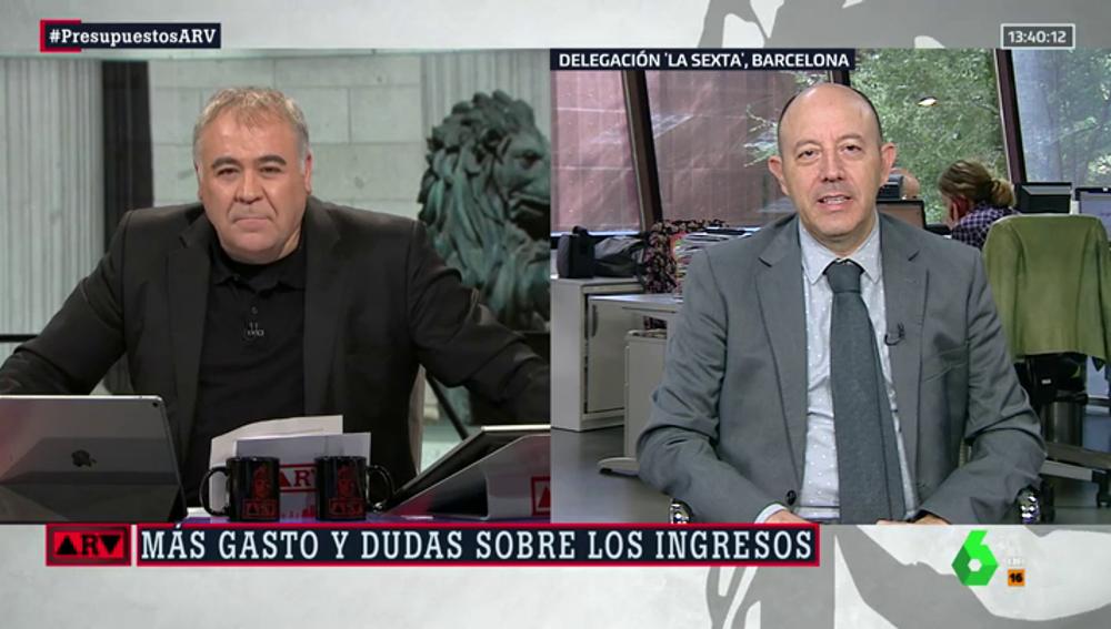 Antonio García Ferreras y Gonzalo Bernardos