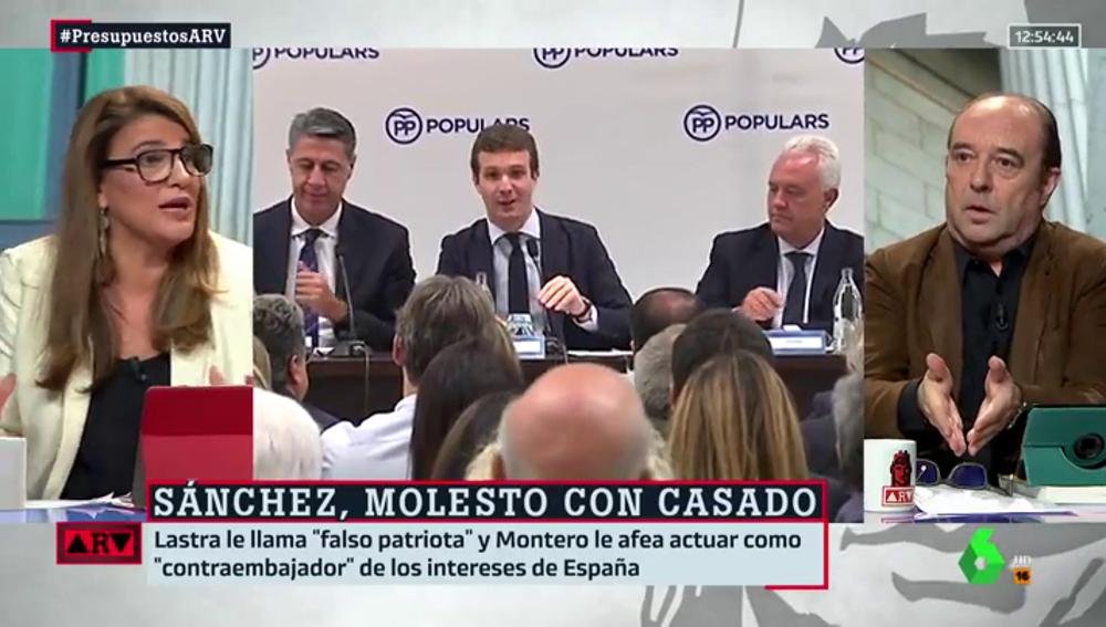 Debate en ARV sobre Pablo Casado