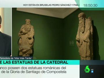 El periplo de las estatuas de la Catedral de Santiago: los Franco retrasan el proceso para devolver dos estatuas románicas