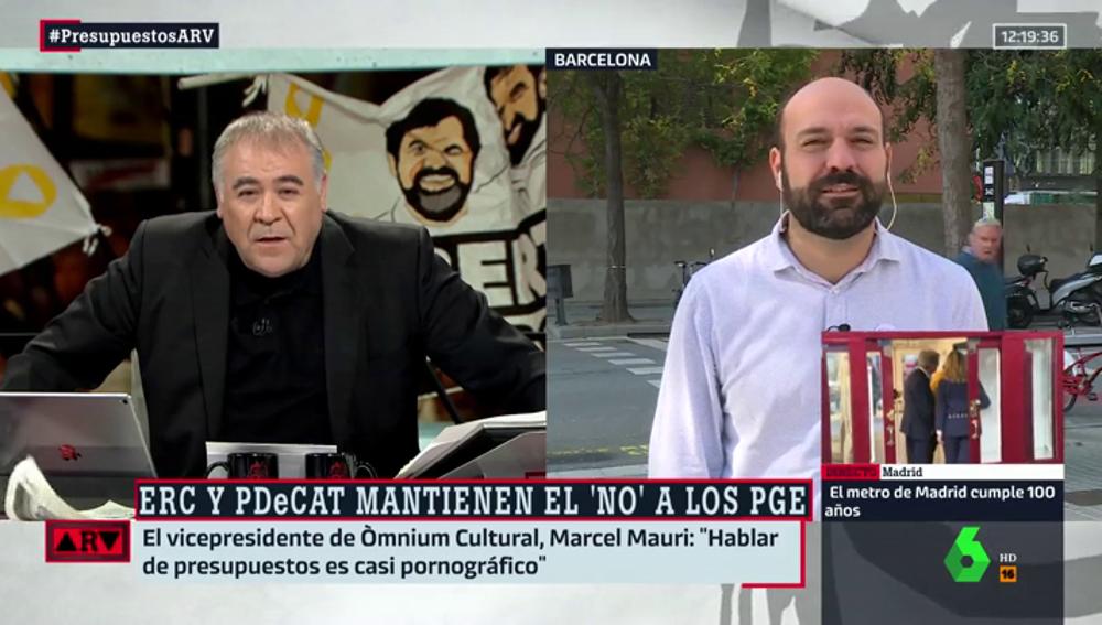 Antonio García Ferreras y Marcel Mauri
