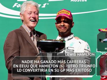 Fórmula 1: Los datos y estadísticas del GP de EEUU 2018 en Austin