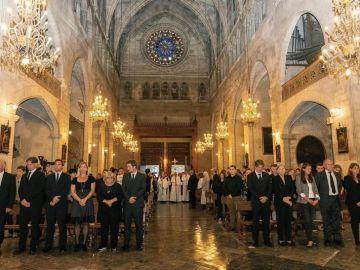 Los reyes de España encabezan el funeral por las víctimas mortales de la riada