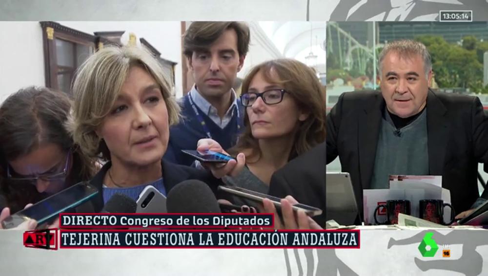 Isabel García Tejerina y Antonio García Ferreras