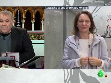 Antonio García Ferreras y Carolina Bescansa