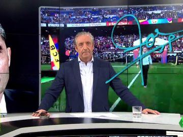 """Josep Pedrerol: """"Abidal, de vez en cuando es bueno comprobar que cuentas con la confianza de tus jefes"""""""