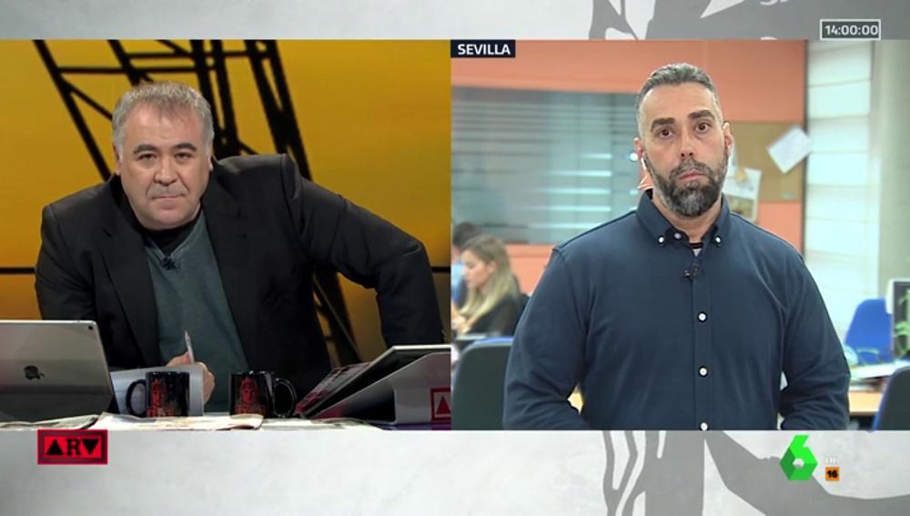 Antonio García Ferreras y Rubén Sánchez