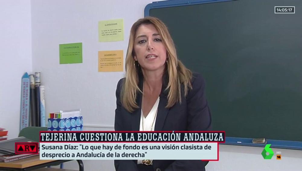 Susana Díaz, en ARV