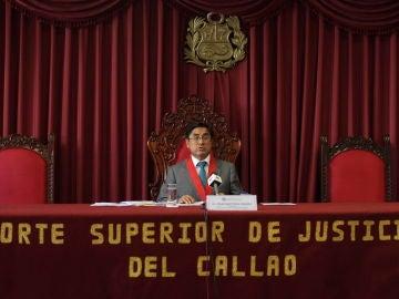 César Hinostroza, exjuez peruano fugado