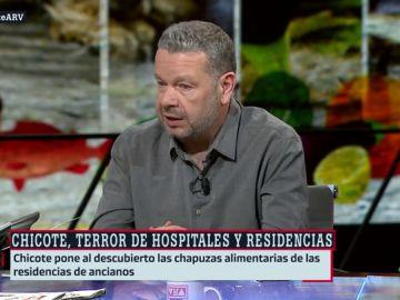 Alberto Chicote explica en ARV cómo ha sido grabar Te lo vas a comer