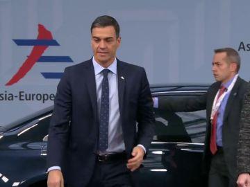 Sánchez asiste en Bruselas a su primera cumbre UE-Asia para tratar las relaciones comerciales y flujos migratorios