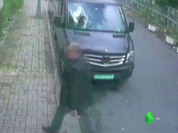 Furgoneta investigada en el caso Khashoggi