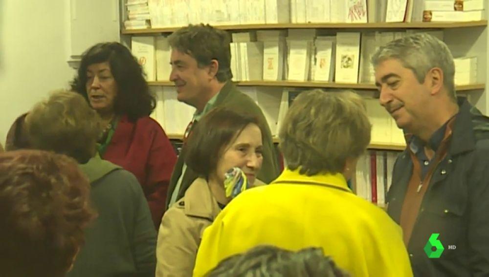 Homenaje en una librería al ex dirigente de CC.OO.