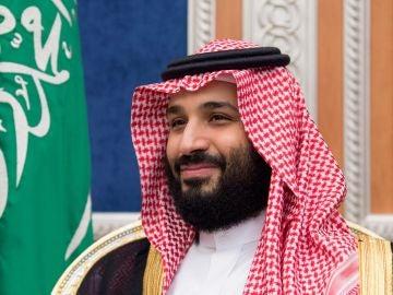Fotografía cedida por el Palacio Real Saudí que muestra al príncipe heredero saudí, Mohamed bin Salman
