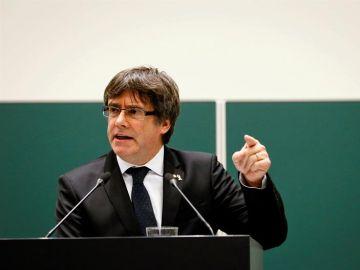 El expresidente de la Generalitat de Cataluña, Carles Puigdemont