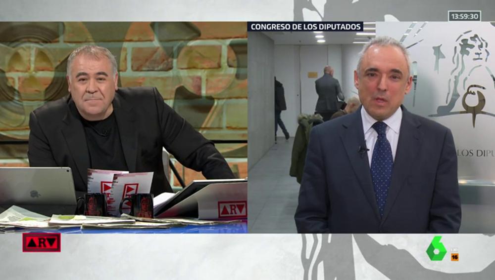 """Simancas justifica que el PSOE no quiera que Villarejo comparezca en el Congreso: """"Las cloacas del Estado no marcan la agenda del país"""""""