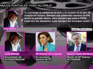 """Cospedal encargó """"trabajos puntuales"""" a Villarejo en su reunión en Génova"""