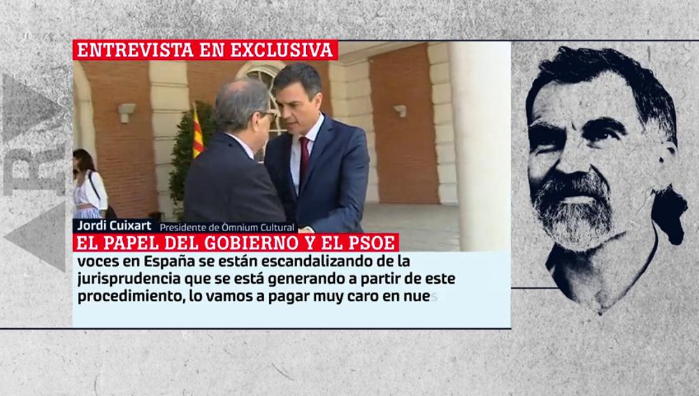 """Entrevista exclusiva a Jordi Cuixart: """"El gobierno de Sánchez va camino de ser una decepción máxima en derechos y libertades"""""""