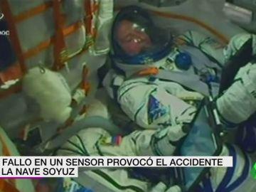 El accidente de la nave de Soyuz fue provocado por un fallo en el sensor