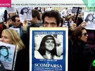 Imagen de la joven desaparecida en Roma en 1983