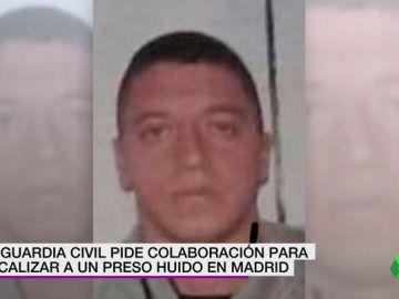 Un preso con antecedentes por secuestro y tortura se fuga de la carcel de Valdemoro