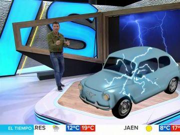 Marc Redondo en el simulador 3D