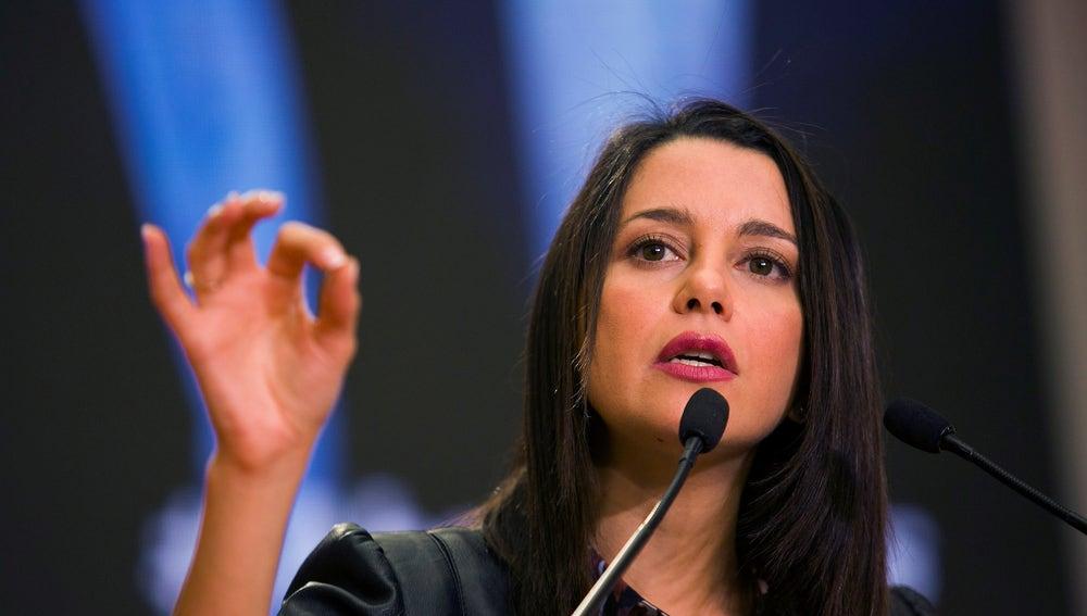 La portavoz nacional de Ciudadanos Inés Arrimadas