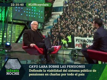 Cayo Lara, en laSexta Noche
